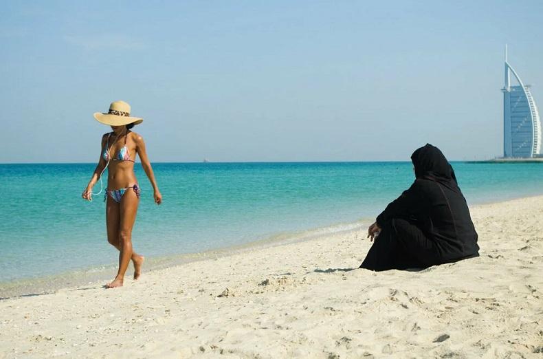 ОАЭ пляж