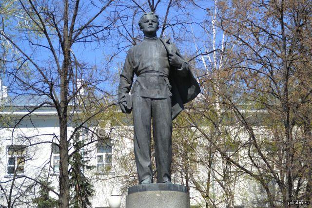 Памятник Ленину КФУ