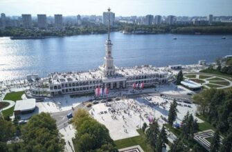Северный речной вокзал Москвы