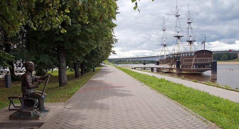 Набережная Великий Новгород