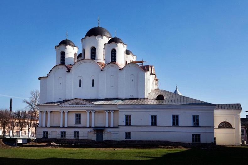 Никольский собор Великий Новгород