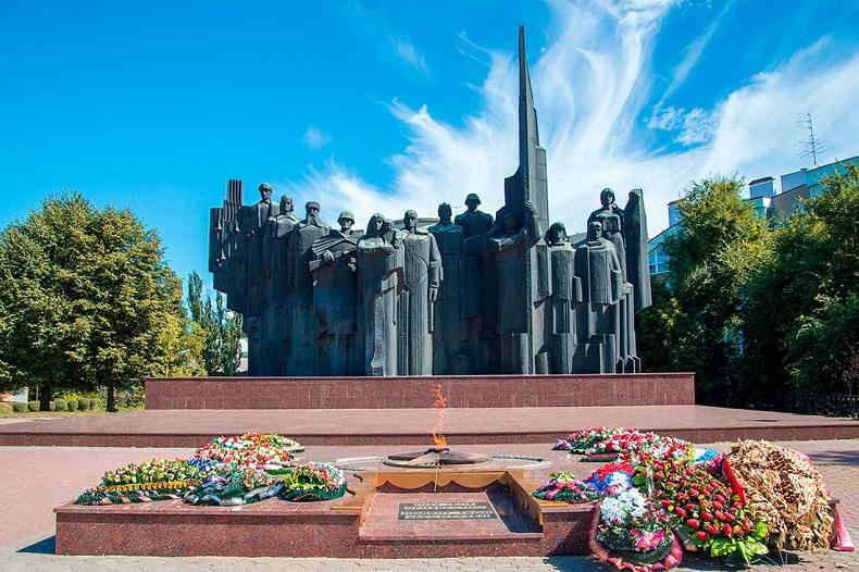 Площадь Победы Воонеж