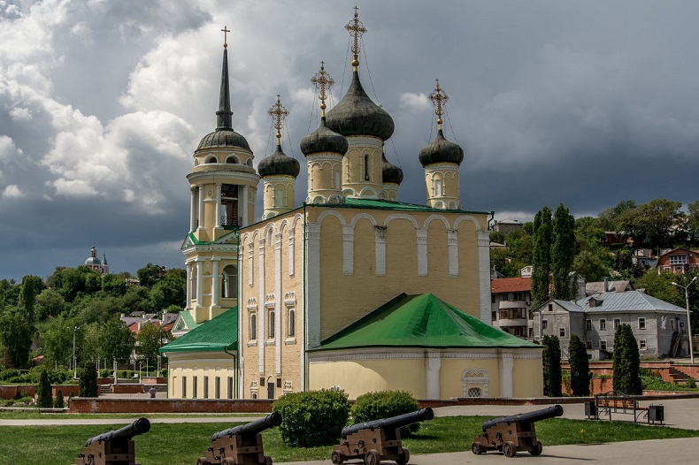 Успенский храм Воронеж