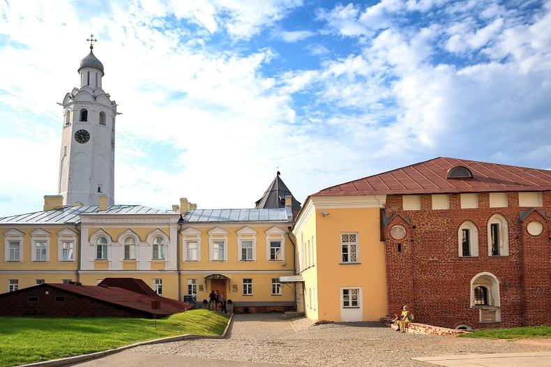 Владычный двор Новгород