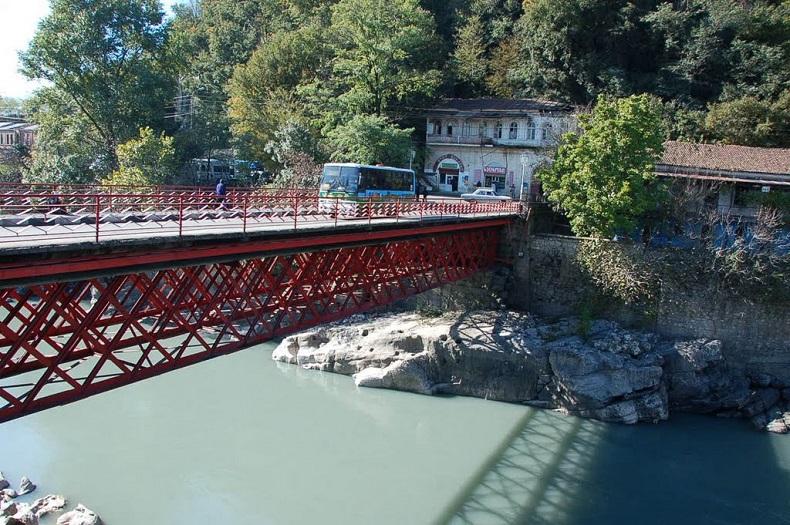 Красный мост Кутаиси