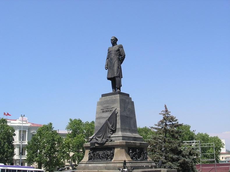 Памятник Нахимову Севастополь