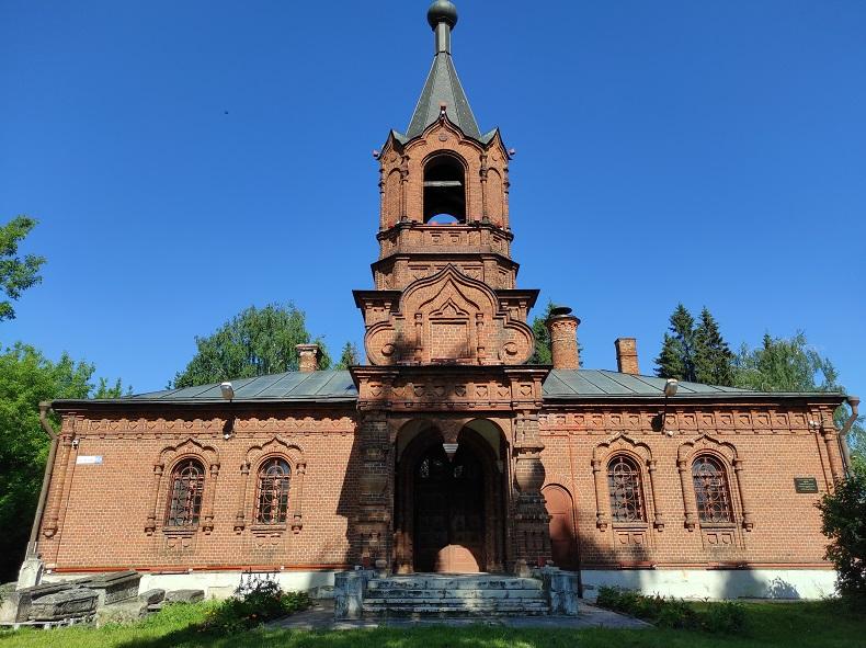 Покровская церковь Серпухов
