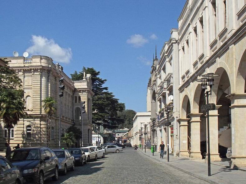 Старый город в Кутаиси