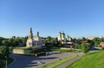Вид с Соборной горы, Серпухов