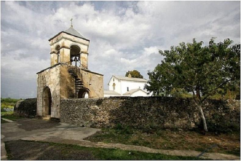 Илорская церковь до реставрации