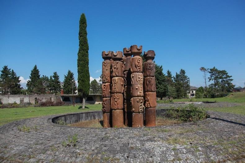 Заброшенные фонтаны, Очамчира