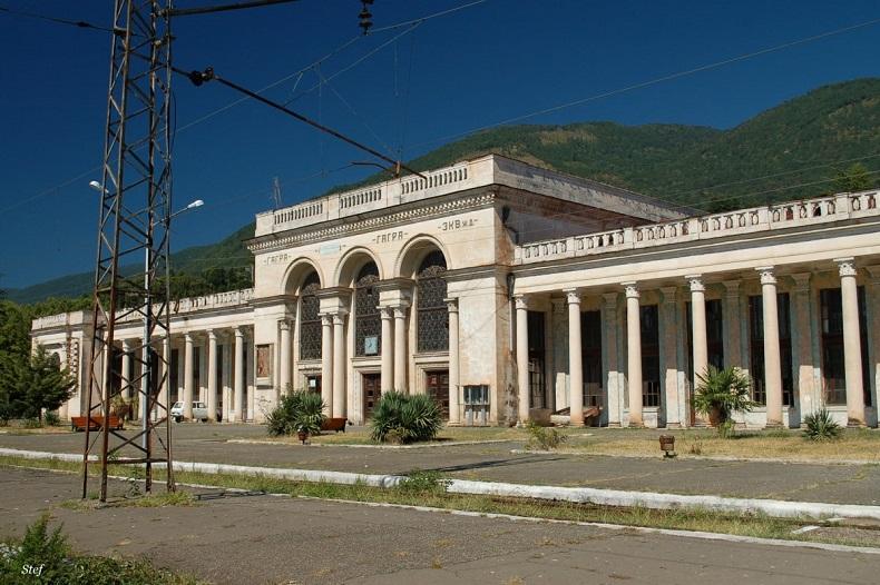 ЖД вокзал Гагра