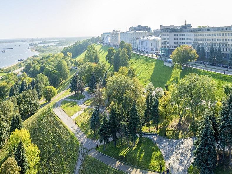 Александровский сад Нижний Новгород