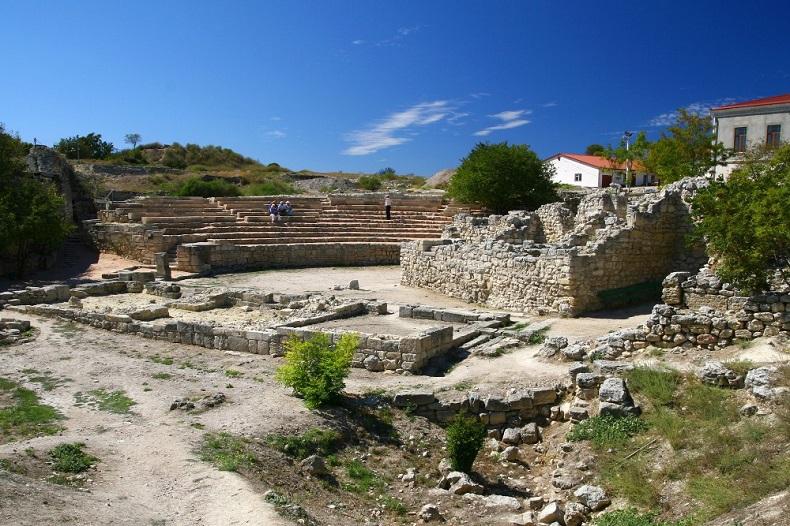 Античный театр, Севастополь