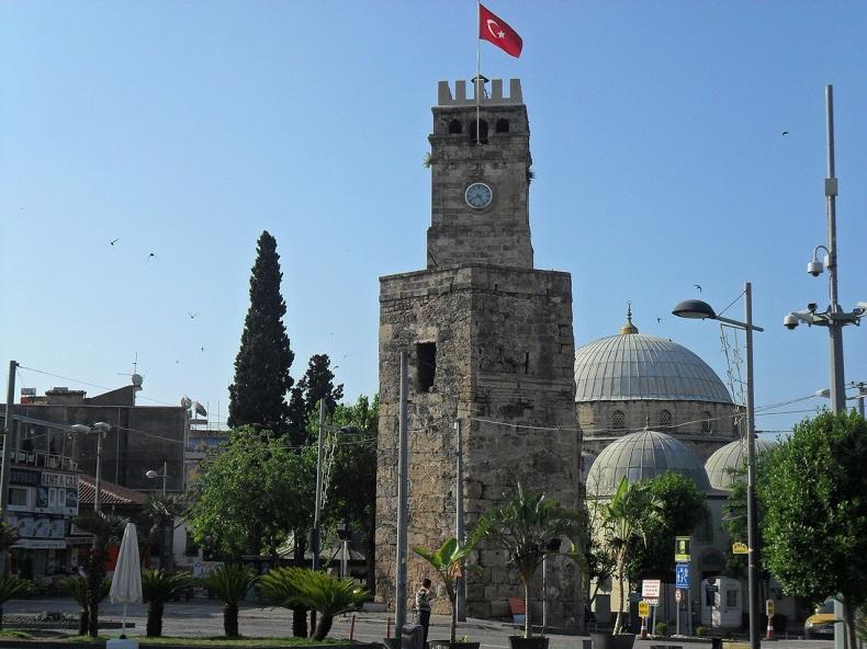 Часовая башня Анталья