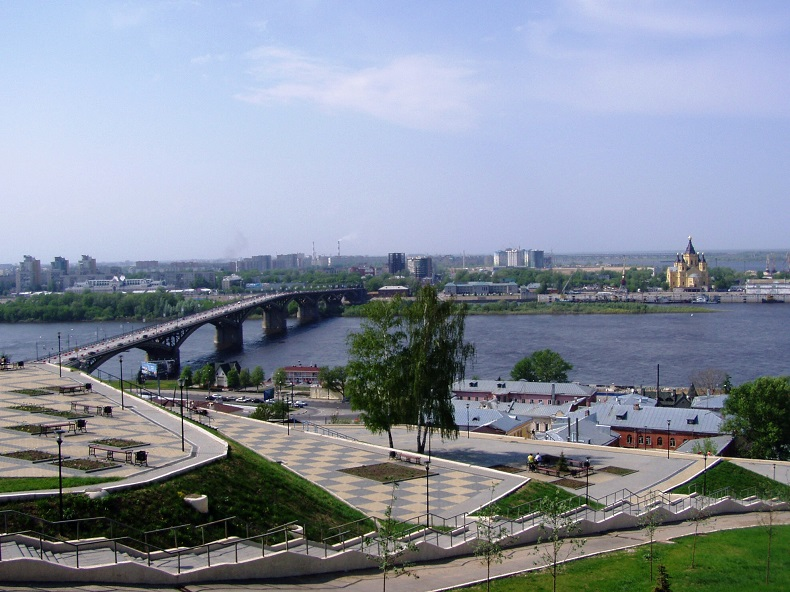 Набережная Федоровского Нижний Новгород