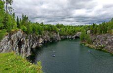 Горный парк Рускеала и Рускеальские водопады