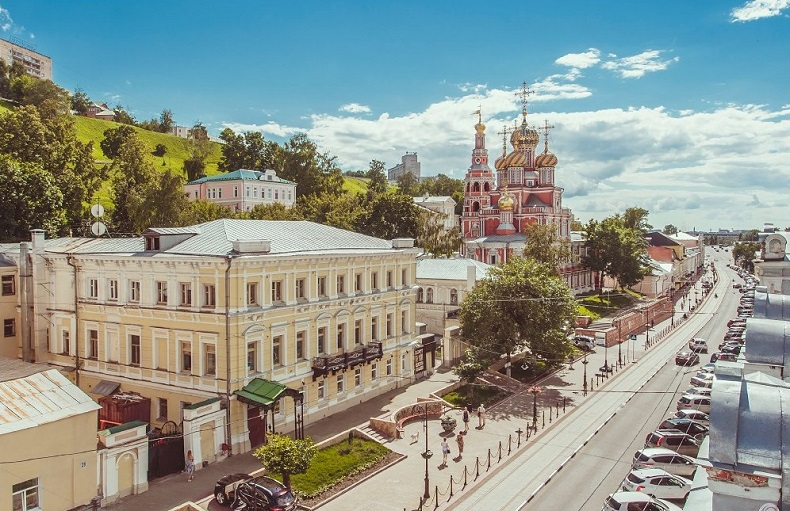 Рождественская улица Нижний