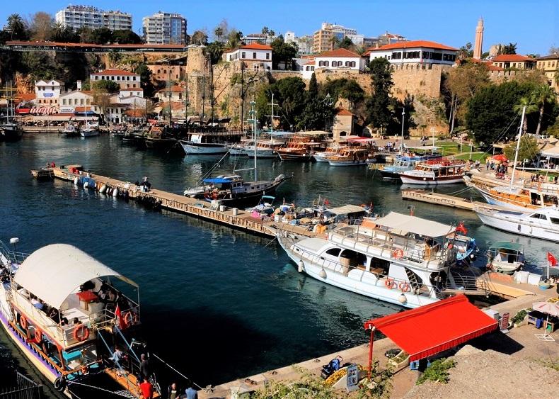 Старый порт Анталья
