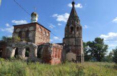 Церковь Архангела Михаила в деревне Нехорошево