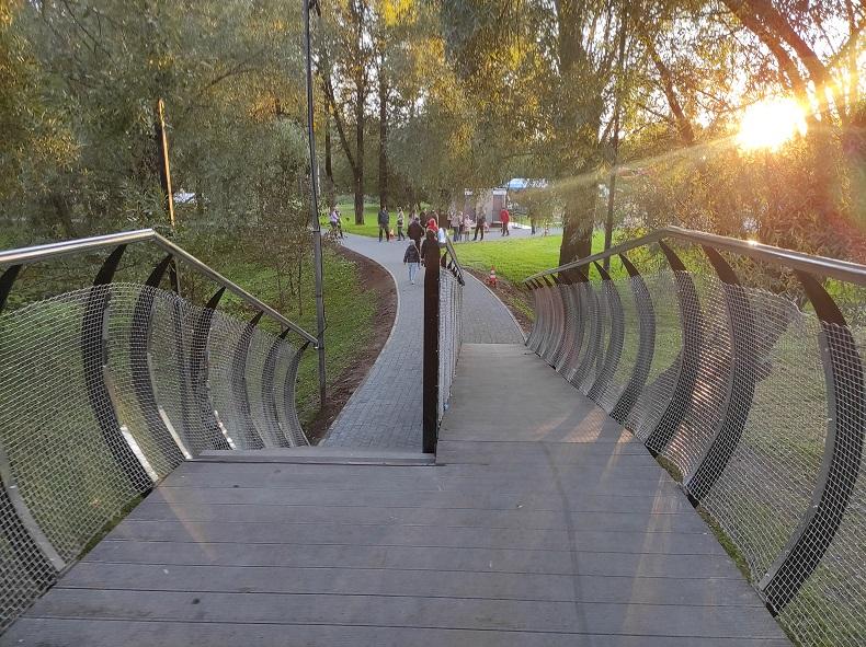 Мост в чеховском парке