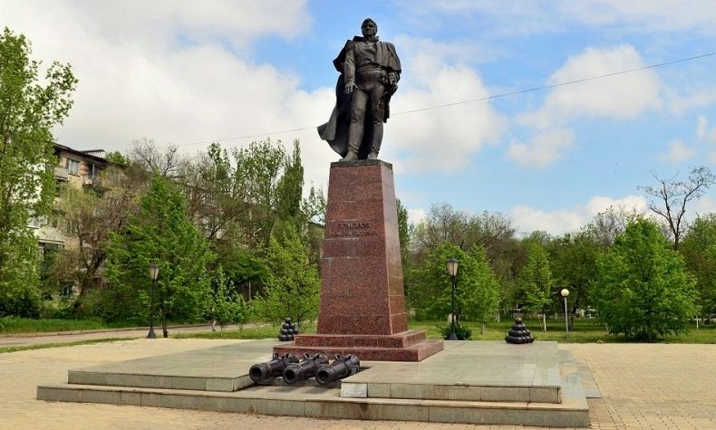 Памятник Ермолову МинВоды