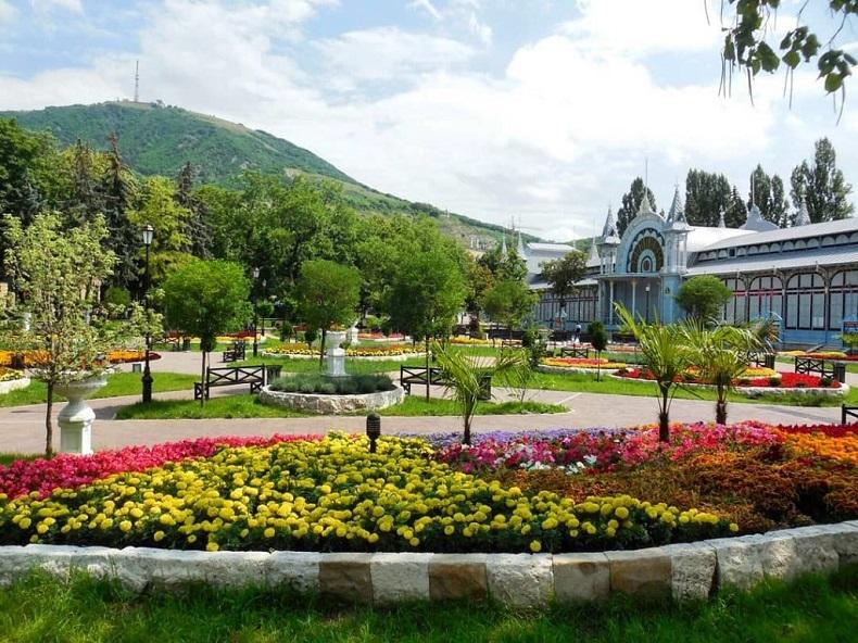 Парк «Цветник» Пятигорск