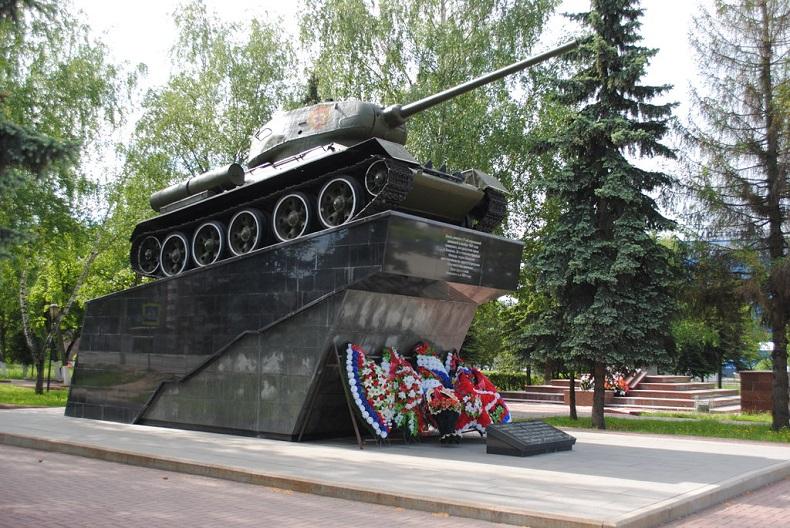 Танк Т-34 в Чехове