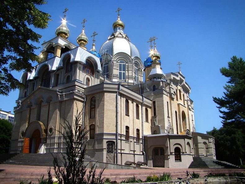 Церковь Пантелеимона Целителя Ессентуки