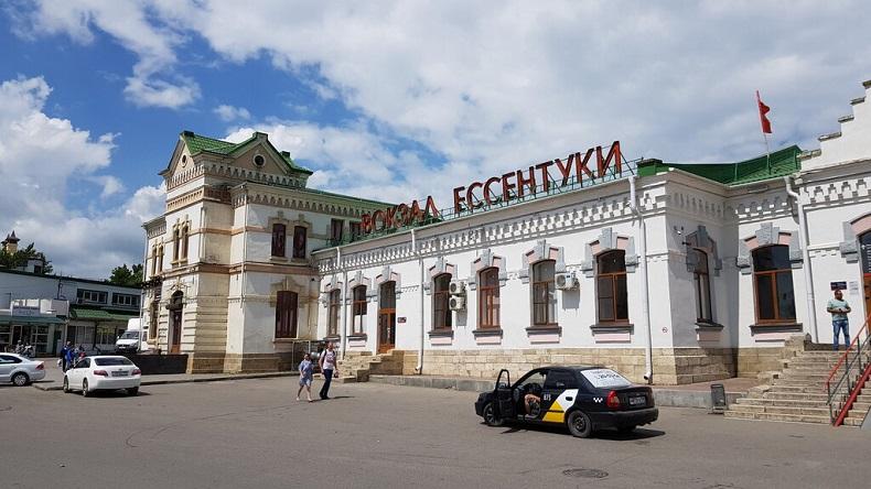 Железнодорожный вокзал Ессентуков
